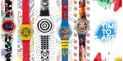 Time to Art: l'arte di Swatch conquista Montenapoleone a Milano