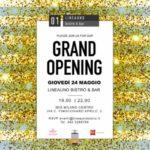 Giovedì 24 maggio: LineaUno Grand Opening a Milano
