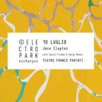 Electropark Exchanges: martedì 10 luglio live di Jace Clayton con David Friend, Emily Manzo, Arooj Aftab (USA) al Teatro Franco Parenti di Milano