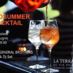 Mercoledì 20 giugno: Midsummer Cocktail in Terrazza Palestro a Milano