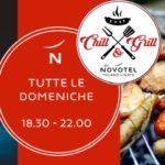 Da lunedì 21 luglio al Novotel Milano Linate Aeroporto Chill and Grill