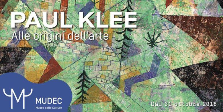 Mostre a Milano: fino al 3 marzo al MUDEC la mostra Paul Klee Alle origini dell'arte