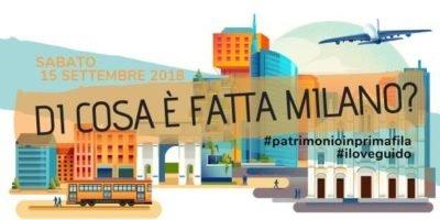 Sabato 15 settembre: Tour sharing con IloveGUIDO e la community Yallers: Di cosa è fatta Milano