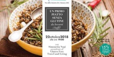 Basiano Milano Corso di cucina di Il Mondo delle Intolleranze: Un primo piatto senza glutine da leccarsi i baffi! Con Simonetta