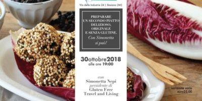 A Basiano Milano il Corso di cucina di Il Mondo delle Intolleranze: Impariamo a preparare un secondo piatto delizioso, originale e senza glutine