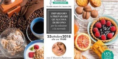A Basiano (Milano) il Corso di cucina di Il Mondo delle Intolleranze: impariamo a preparare qualcosa di buono per la colazione o la merenda