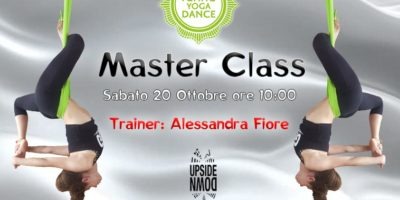 Sabato 20 ottobre a Milano la Flying Yoga Dance Master Class