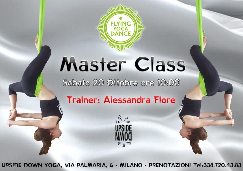 cosa fare sabato 20 ottobre a Milano Flying Yoga Dance Master Class