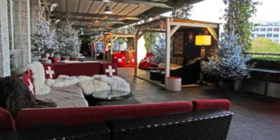 Swiss Winter Lounge in Terrazza Palestro a Milano