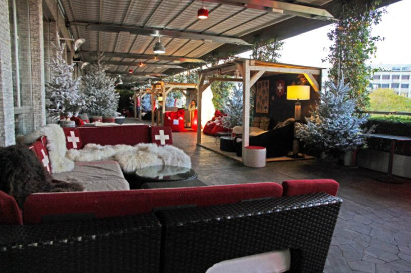 Swiss Winter Lounge E Swiss Aperò In Terrazza Palestro A Milano