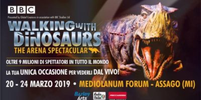 Walking With Dinosaurs a Milano