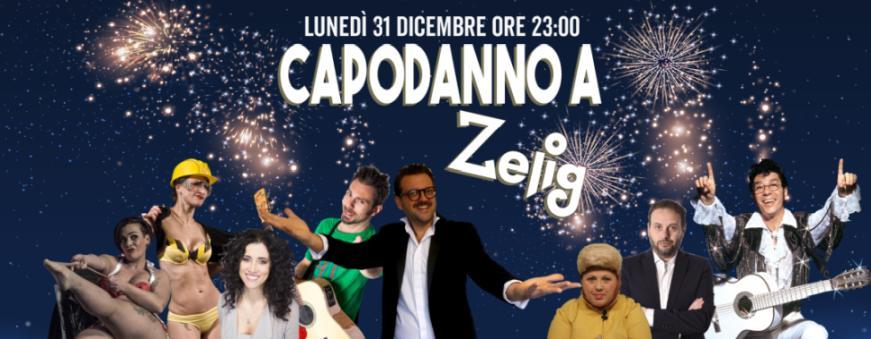 Un capodanno tutto da ridere allo Zelig Cabaret di Milano