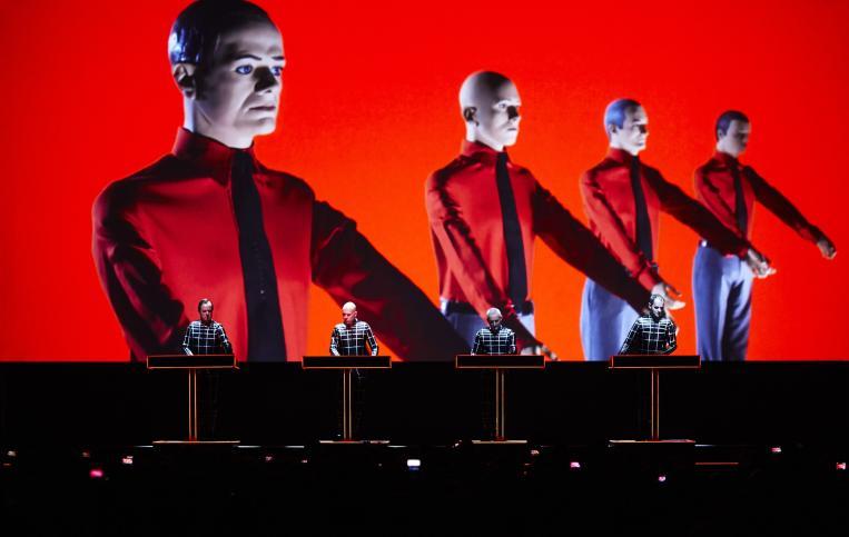 I Kraftwerk live a Rock in Roma 2019