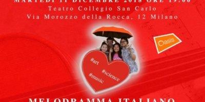 """A Milano il Concerto di musica classica """"Music 4 Children - Melodramma italiano"""" a favore di ragazzi orfani"""