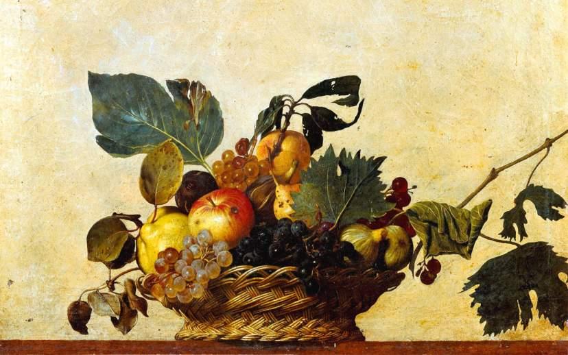 Cosa vedere a Milano: Canestra di frutta di Caravaggio in Pinacoteca Ambrosiana
