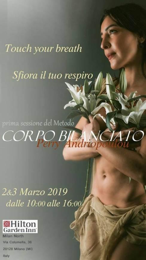 Corsi a Milano: sabato 2 e domenica 3 marzo Metodo Corpo Bilanciato