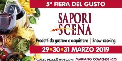 Sapori in Scena - Dal 29 marzo la fiera del gusto al Palazzo Storico delle Esposizioni
