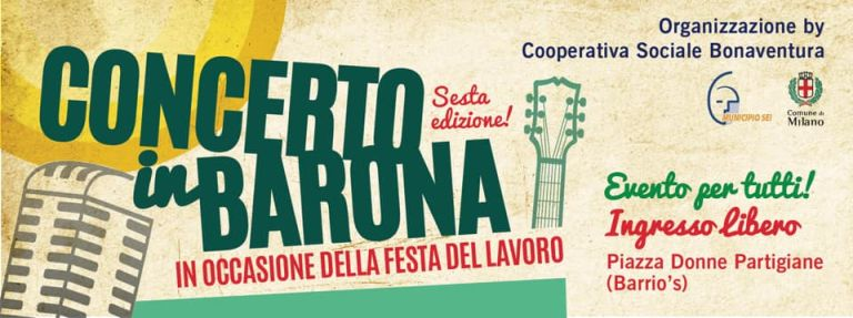 Concerto del primo maggio a Milano