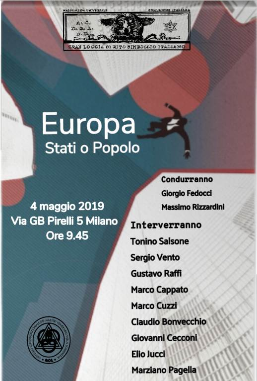 Conferenza a Milano: Europa, Stati o Popolo