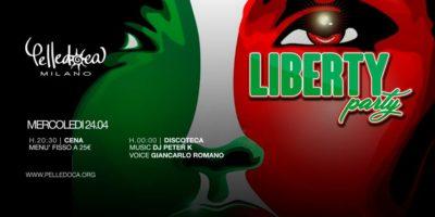 cosa fare Mercoledì 24 aprile: Liberty Party in Discoteca Pelledoca a Milano