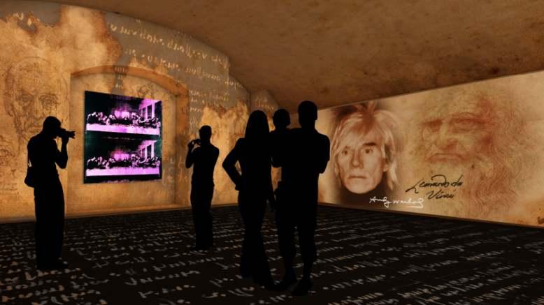 1 maggio cosa fare a Milano: mostra Leonardo and Warhol