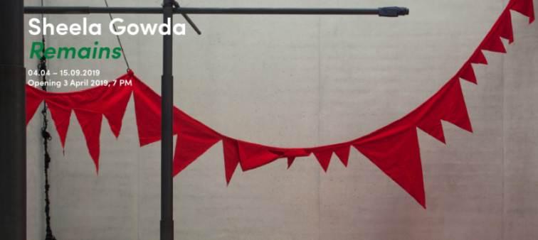 Pasqua mostre a Milano: Sheela Gowda Remains mostra in Hangar Bicocca