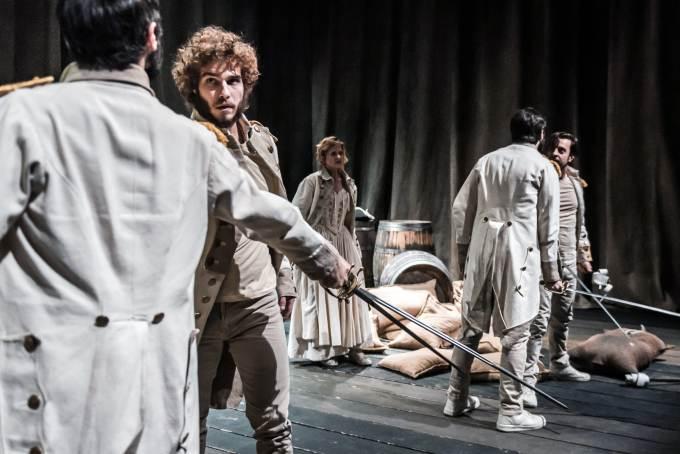 Teatro Fontana di Milano: dal 30 7 aprile al 5 maggio La guerra. Richiedi i biglietti in sconto