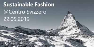 Mercoledì 22 maggio: Sustainable Fashion al Centro Svizzero di Milano