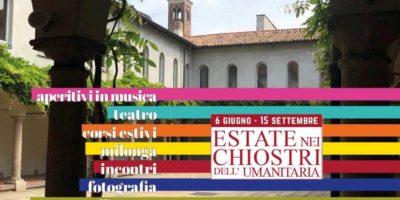Estate nei Chiostri dell'Umanitaria a Milano