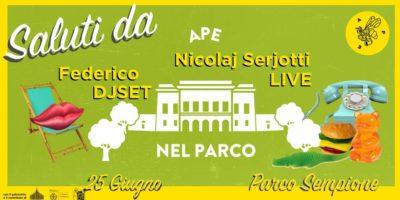 Eventi del 25 giugno a Milano: Ape nel Parco Sempione #4