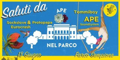 Giovedì 13 giugno a Milano: Ape nel Parco Sempione #2