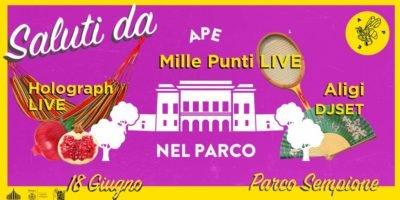 Eventi del 18 giugno a Milano: Ape nel Parco Sempione