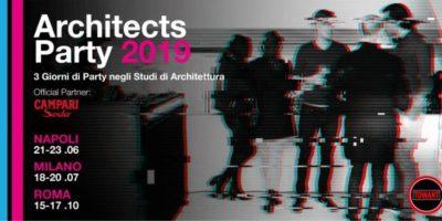 ArchitectsParty Milano 2019: dal 18 al 20 giugno party gratuiti in 11 studi di architettura