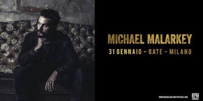 31 gennaio: Michael Malarkey in concerto al Gate di Milano