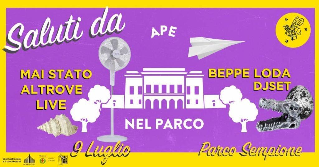 Eventi del 9 luglio a Milano: Ape nel Parco Sempione #6