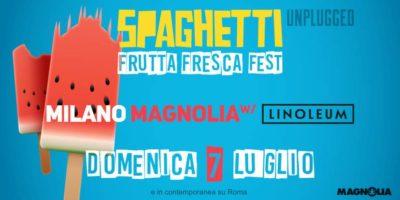 Domenica 7 luglio al Circolo Magnolia: Frutta Fresca Fest a Milano