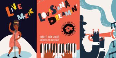 Louisiana Dreamin' al Novotel Milano Linate