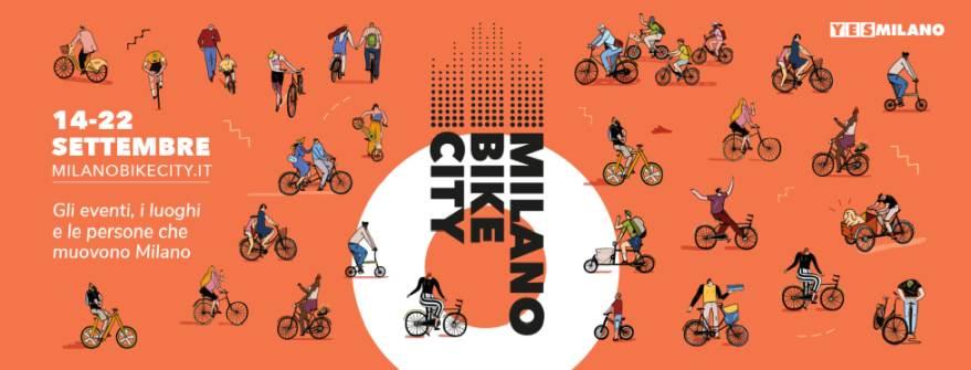 Milano Bike City: dal 14 al 22 settembre la città corre in bicicletta