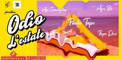 Venerdì 19 luglio a Milano: Odio L'Estate - one last summer party