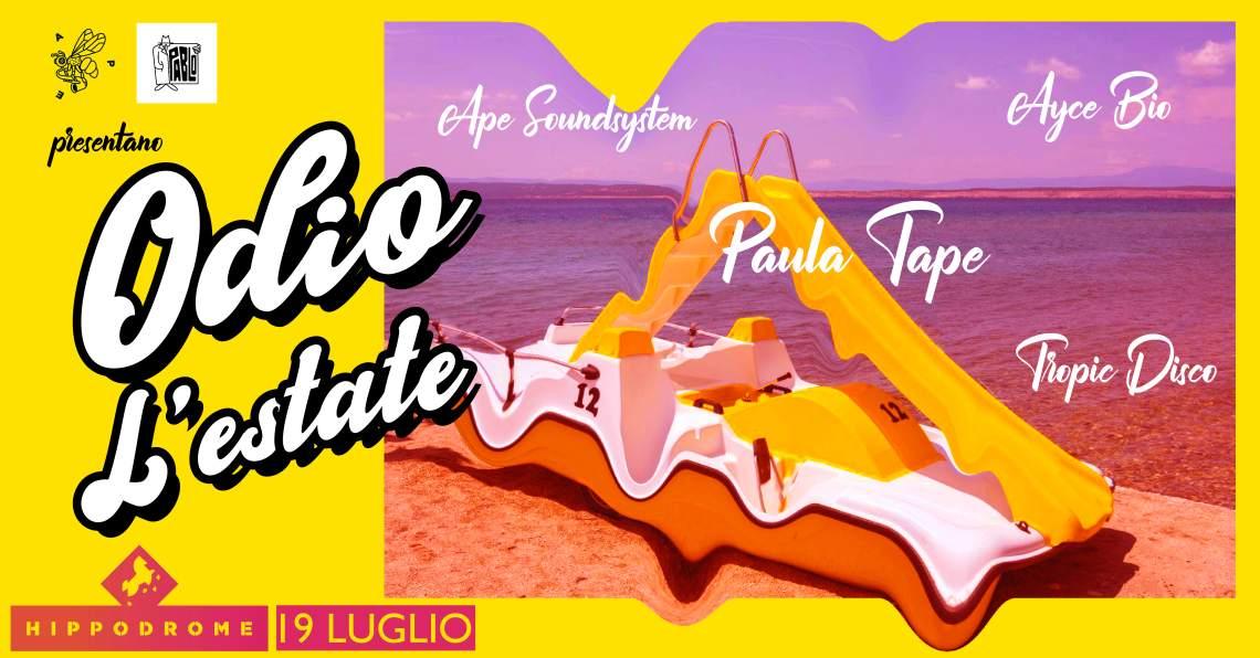 cosa fare Venerdì 19 luglio a Milano: Odio L'Estate – one last summer party