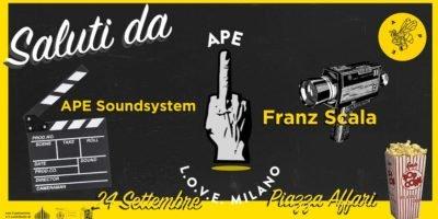 Eventi del 24 settembre a Milano: Ape in Piazza Affari 6 - One last night