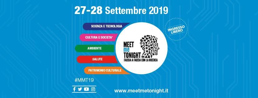 cosa fare sabato 28 settembre a Milano: MEETmeTONIGHT 2019