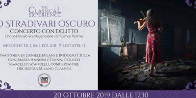 Eventi del 20 ottobre a Milano: Lo Stradivari Oscuro - Concerto con delitto