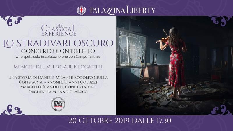 cosa fare domenica 20 ottobre a Milano: concerto con delitto in Palazzina Liberty con MilanoClassica