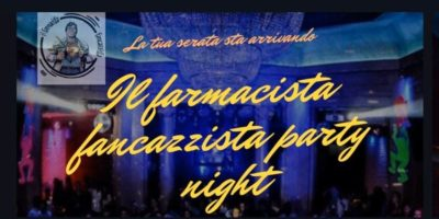 Il Farmacista fancazzista party Night a Milano