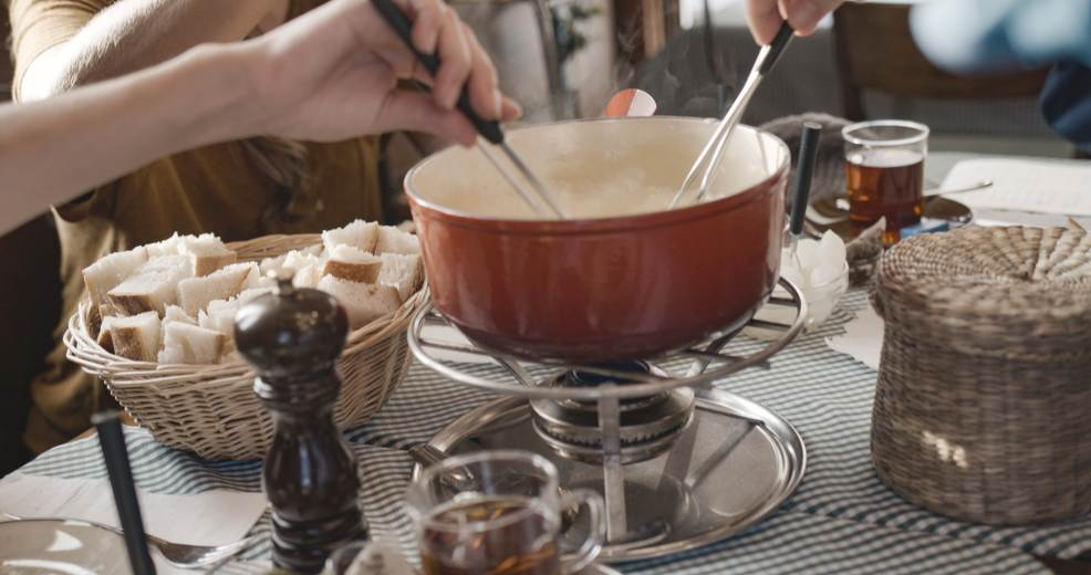 Swiss Winter Lounge / Fondue Experience in Terrazza Palestro a Milano