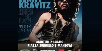 Lenny Kravitz in concerto a Mantova