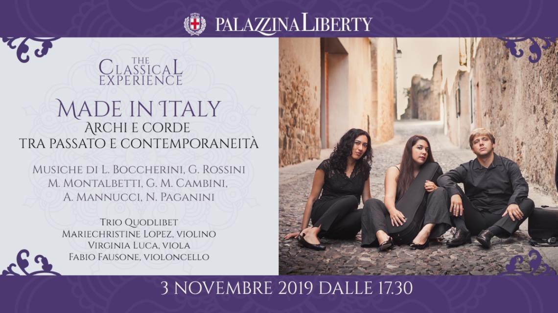 cosa fare domenica 3 novembre a Milano; il Trio Quodlibet in concerto