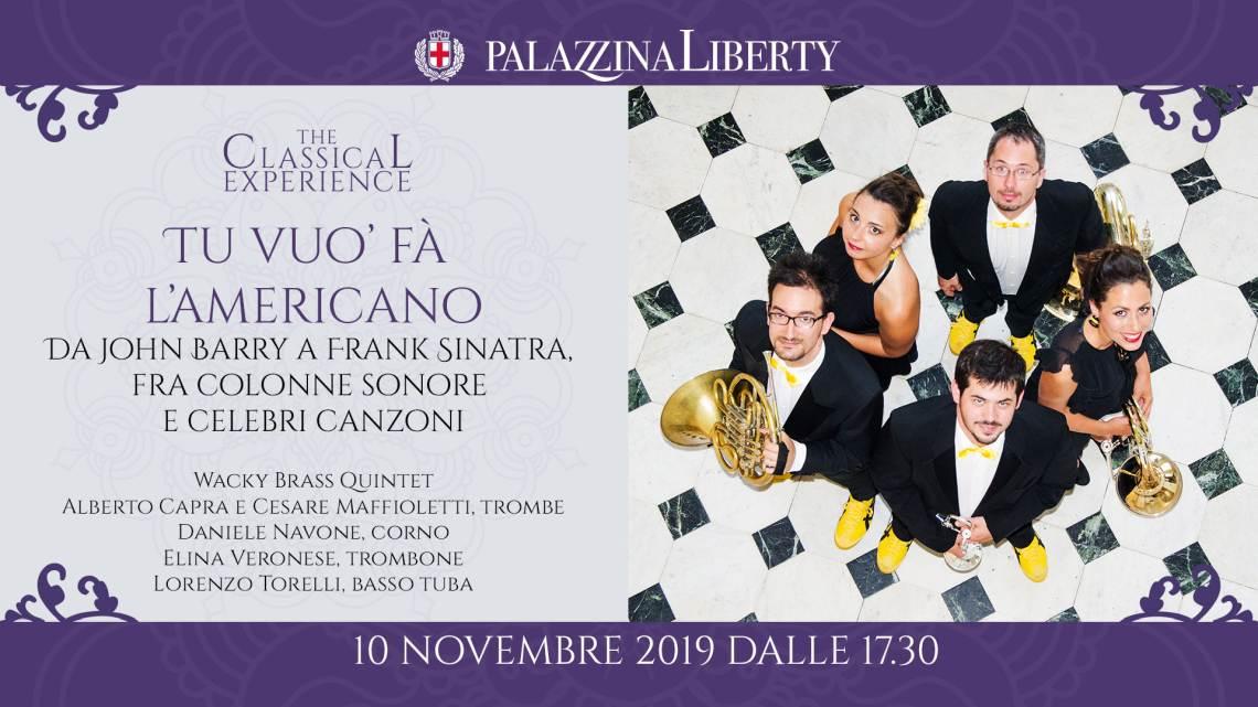 cosa fare domenica 10 novembre a Milano: Tu vuo' fà l'americano: concerto in Palazzina Liberty.