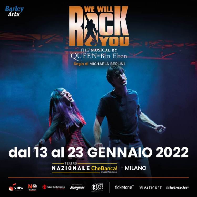 WE WILL ROCK YOU: lo spettacolo con le hit dei Queen torna in scena a MILANO a gennaio 2022